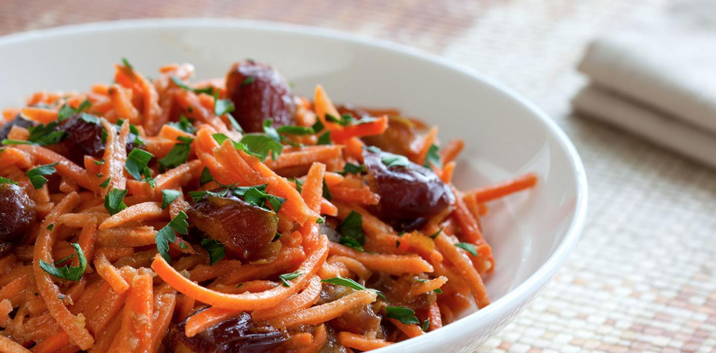 Carrot and Date Salad