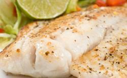 Fish with Cilantro Sauce