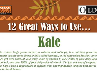 12 Great Ways to Use Kale