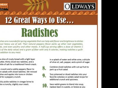 12 Great Ways to Use Radishes