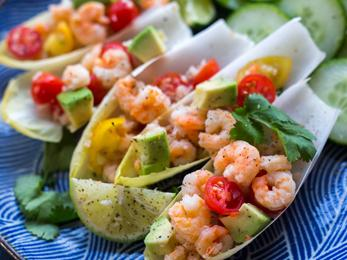 Shrimp Avocado Appetizer