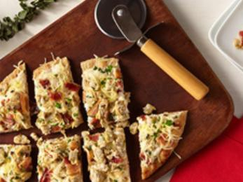 White Clam Flatbread with Herbs