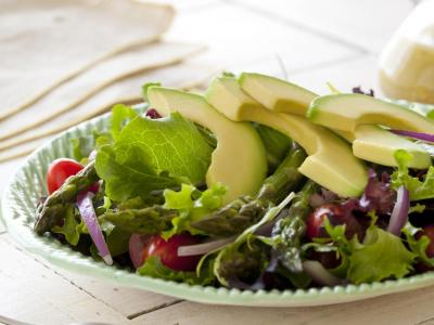 Avocado and Roasted Asparagus Salad