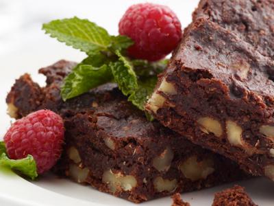 Spiced Medjool Date Walnut Brownies