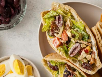 Cobb Salad Pita Pocket