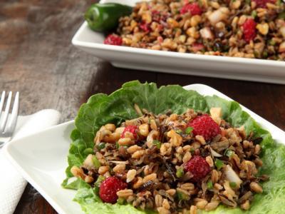Israeli Couscous And California Avocado Salad Recipe — Dishmaps