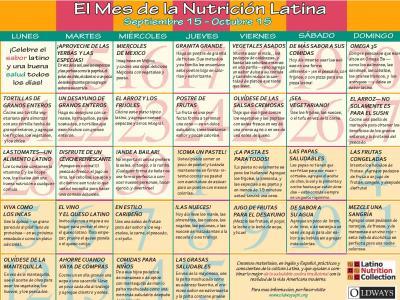 Calendario de la Vida Latina