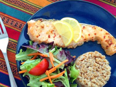 Mediterranean Spicy Salmon