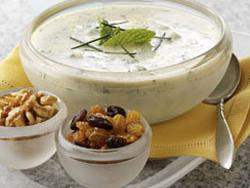 Minted Yogurt Soup