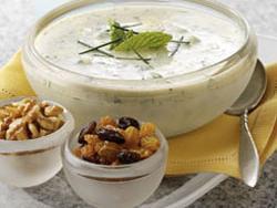 Minted Yogurt Soup