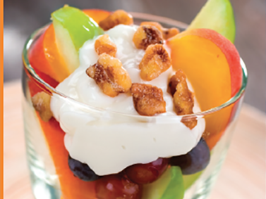 Fruit and Yogurt Snack