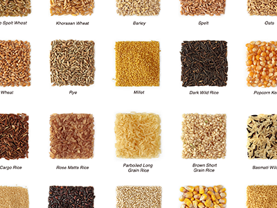 Chart of Whole Grains
