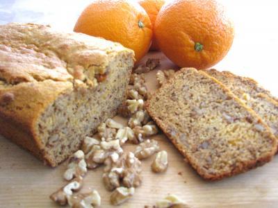 Orange Walnut Kamut Bread