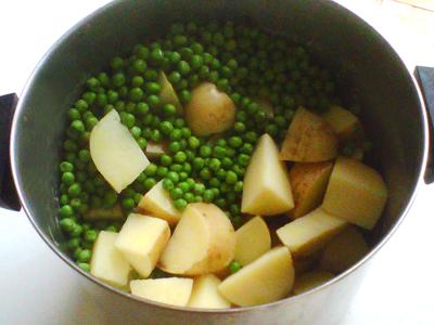 Kenyan Vegetable Mashed Potatoes