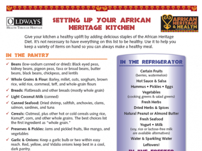 Setting Up Your African Heritage Kitchen