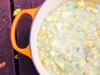 Hearty Succotash Soup