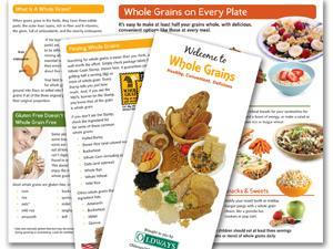 Whole Grains 101 brochure