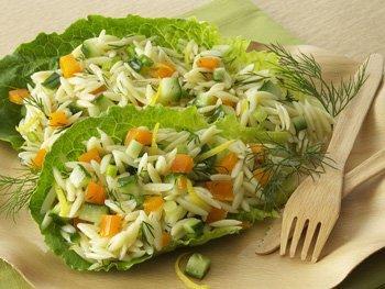 Orzo Cucumber Sald