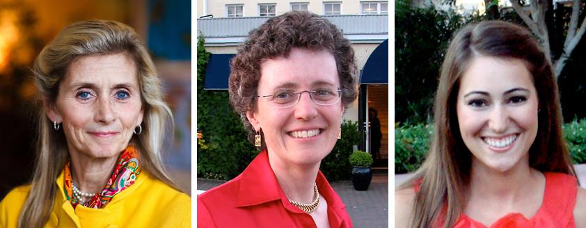 Sara Baer-Sinnott, Cynthia Harriman, Kelly Toups